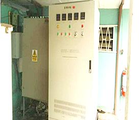 Installation of 150KVA TESCOM industrial stabilizer.