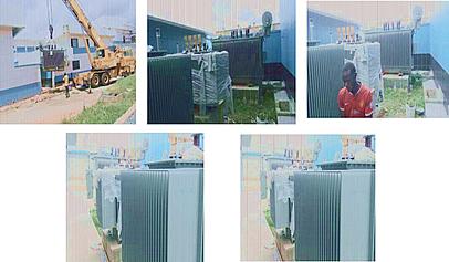 Installation of  120KVA,80KVA,60KVA,40KVA & 2OKVA UPS